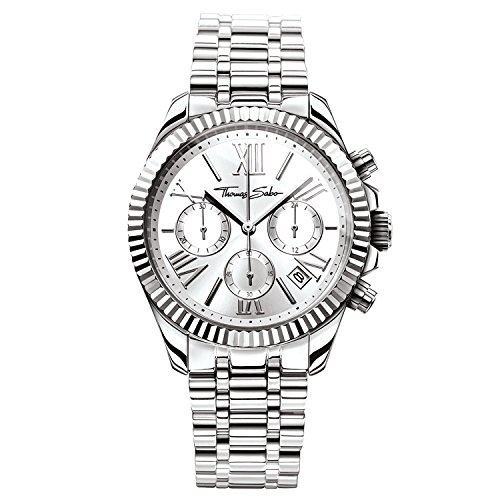 Thomas Sabo Women's Watch Divine Chrono Silver Analogue Quartz