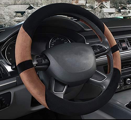 Coche Volante Cubierta De Felpa Invierno Antideslizante Universal 38Cm,Red Accesorios para coche