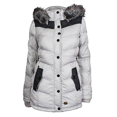 Khujo Munich giacca invernale PES2ICE crème, Frauen:L