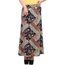 Diseño de mariquita para mujer floral falda larga
