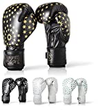 Paffen Sport Lady Frauenboxhandschuhe - Boxhandschuhe für Damen, schwarz/weiß, 12UZ