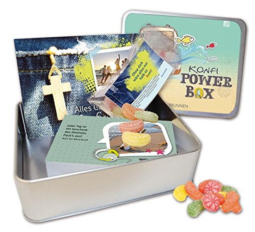 Konfi Power-Box: Box mit Kärtchen