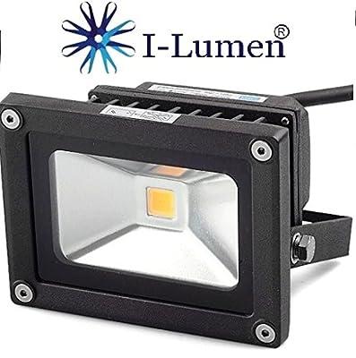 LED Flutlicht Fluter Außenstrahler in weiß oder schwarz 230V von I-Lumen® auf Lampenhans.de