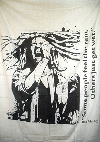 Traditionelle Jaipur Twin Hippie Tapisserie, Bob Marley, zum Aufhängen indischen Werfen, Bohemian Betten, Boho Schlafsaal, Zimmerdekoration Gypsy Beach Decke