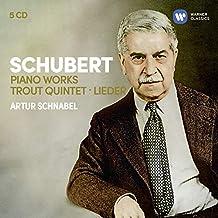 Schubert: 3 Sonatas, Impromptus, Moments Musicaux, Trout Quintet, 7 Lieder…