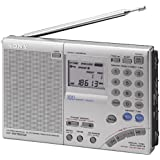 Sony ICFSW7600GR Radio portable Argent