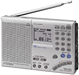 Sony ICF-SW7600GR AM/FM Shortwave World Band Receiver with Single Side Band Reception, plus External Plug-in Antenna