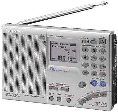 Sony ICF-SW7600G récepteur Radio - Récepteurs Radio