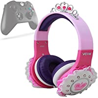 DURAGADGET Auriculares Diadema Para XBOX ONE - Modelo Princesa - En Morado Y Rosa
