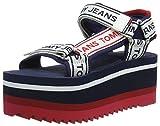 Best Tommy Hilfiger sandalias de plataforma - Hilfiger Denim Tommy Jeans Technical Sandal, Sandalias con Review