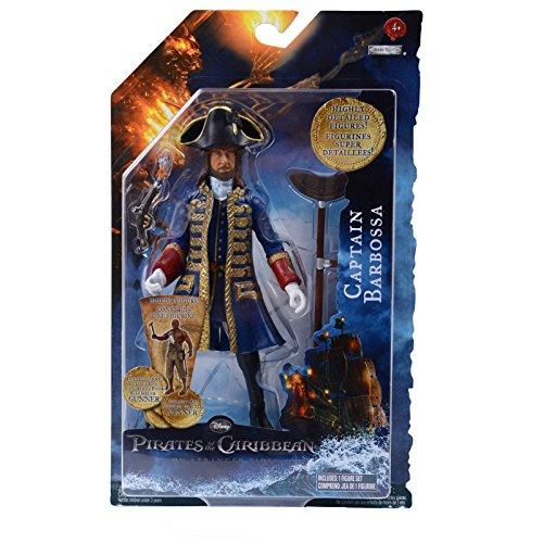 Pirates of the Caribbean Fluch der Karibik 4 - Captain Barbossa Actionfigur, 16cm (Captain Barbossa)