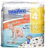 Moltex Premium Panales, Talla 4, 9/15