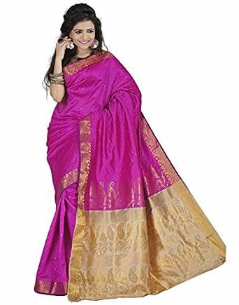 E-Vastram Silk Saree (Krpp_Pink)
