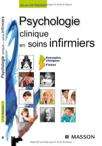 Psychologie clinique en soins infirmiers