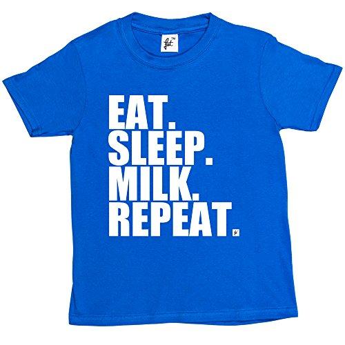eat-sleep-milk-repeat-farming-farmers-tractor-kids-boys-girls-t-shirt-size-5-6-year-old-colour-royal