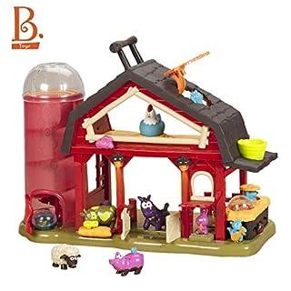B toys by Battat - Baa-Baa-Barn Musical Farm Set - Interactive Animal Farm with 4 Animals and 2 Rattle Balls for Kids 2+ (7pcs) (B00J63IWVQ) | Amazon price tracker / tracking, Amazon price history charts, Amazon price watches, Amazon price drop alerts