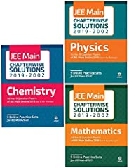 17 Years' Chapterwise Solutions for JEE Main 2019 - Physics, Chemistry, Maths (Set of 3 bo