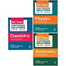 17 Years' Chapterwise Solutions for JEE Main 2019 - Physics, Chemistry, Maths (Set of 3 books)