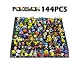 New Cute 144 pcs Pokemon Monster Mini figure 2-3cm in Random by JapanCos