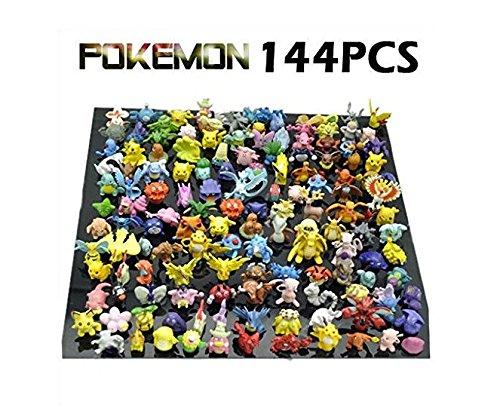 144 pcs Pokemon Monster Mini figures