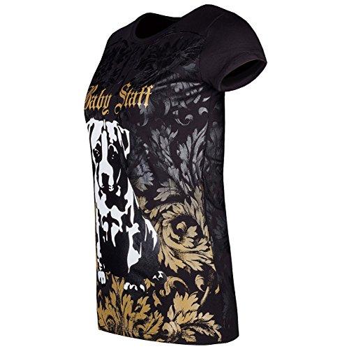 Babystaff T-Shirt Zesira schwarz