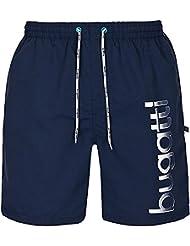 bugatti® - Herren Badeshort in marineblau, türkis oder schwarz