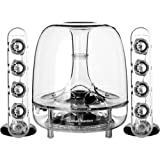 Harman Kardon SoundSticks Wireless Bluetooth Enabled 2.1 Speaker System Image