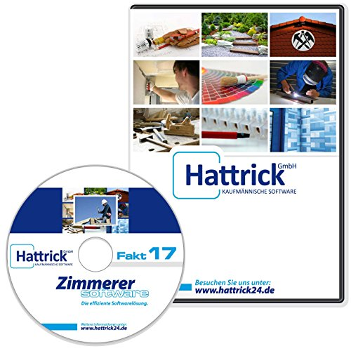 Zimmerer Software Fakt2017 Pro, beliebtes Komplettprodukt mit Leistungstexten, telefonischer Support, läuft unbeschränkt 2017, 2018, 2019..., keine Folgekosten, Produkt-CD und gedrucktes Handbuch