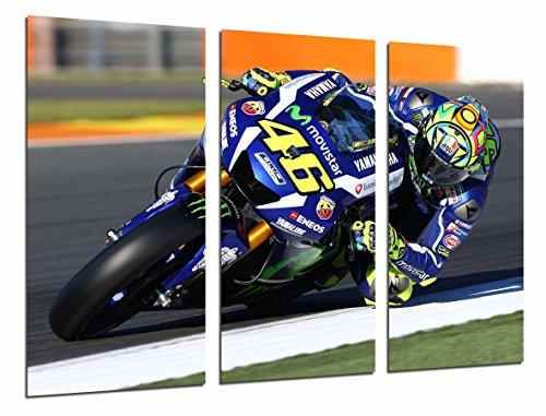 buy popular d61ea 3f030 Quadro su Legno, Moto Valentino Rossi, Motociclista, Yamaha ...