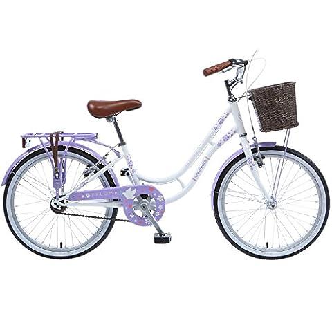 20, 24 oder 26 Zoll Viking Paloma Cityrad Jugendrad Hollandrad Fahrrad Damenrad, Radgröße:20 zoll