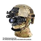 XW Infrarrojos Militares Llevando un Casco de Estilo de Alta Definición de Visión Nocturna Binoculares Monocular Dispositivo de Visión Nocturna Digital,Negro