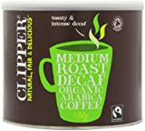 Clipper Organic Instant Freeze Dried Decaffeinated Coffee 500 g