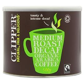 Clipper Organic Instant Freeze Dried Decaffeinated Coffee 500 g 5194GU0PzAL