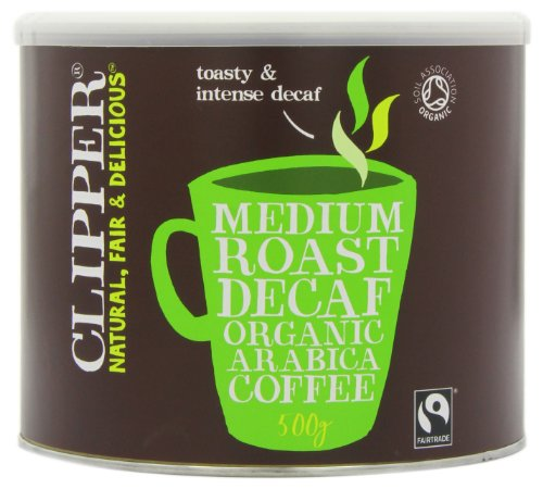 Clipper Organic Instant Freeze Dried Decaffeinated Coffee 500 g 5194GU0PzAL