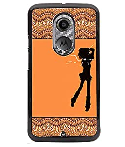 Fuson 2D Printed Girly Designer back case cover for Motorola Moto X2 - D4264