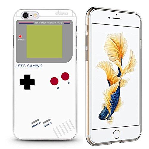 Panelize iPhone 6 Emoji Hülle Schutzhülle Handyhülle Hard Case Cover Kratzfest Rutschfest Durchsichtig Klar (Donut1) gameboy