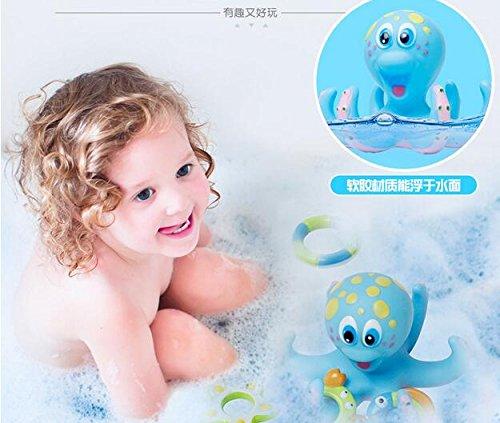 Vasyle Kinderbaden Spielzeug Badewasserspielzeug Krake Fischkreis