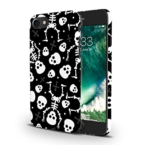 Koveru Back Cover Case for Apple iPhone 7 - Mexican Skulls