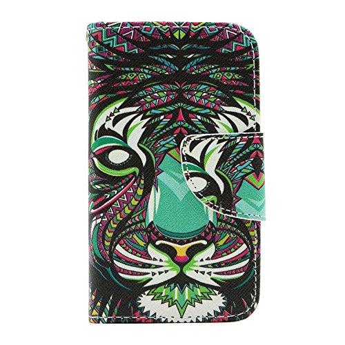 HUANGTAOLI Protettiva Flip Case Cover per Apple iPhone 4 4S 4G C81