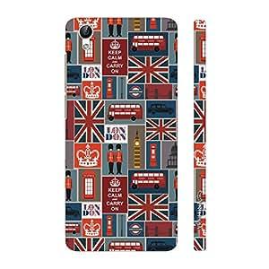 Enthopia Designer Hardshell Case London Calling 3 Back Cover for Vivo Y51L
