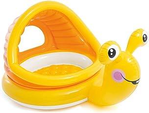 "Jilani Intex Baby Snail Pool with Sunshade, 57""L x 40""W x 29""H"