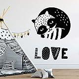 wukongsun Linda Enfermera con decoración de habitación de bebé, Baby Shower, Vinilo Adhesivo de Pared, Regalo de cumpleaños 42cmX56cm
