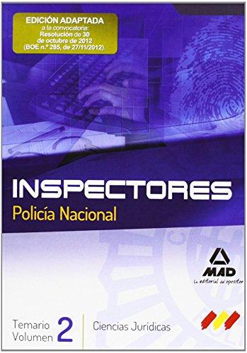 INSPECTORES DEL CUERPO NACIONAL DE POLICIA