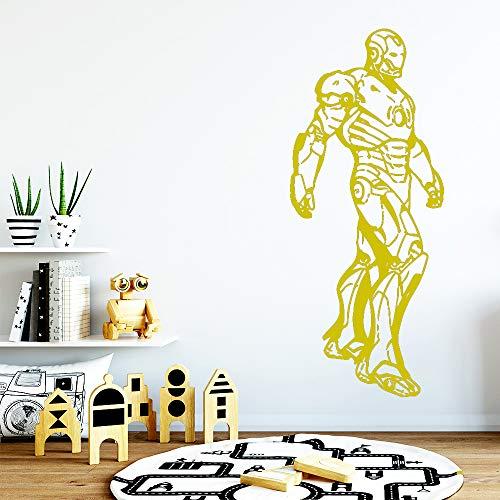 jiuyaomai Moderne Aufkleber Wasserdicht Vinyl Tapete Wohnkultur PVC Wandtattoos Hintergrund Wandkunst Aufkleber 2 43 cm X 103 cm -