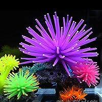 Mengonee Pecera de acuario Decoración Simulación Sea-Urchin Underwater