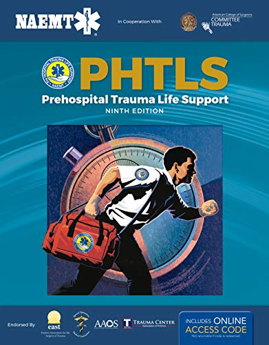 PHTLS 9E: Print PHTLS Textbook With Digital Access To Course Manual Ebook: Prehosp Trauma Life Support W/Nav eBook