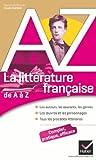 Lire le livre littérature française Auteurs, oeuvres, gratuit