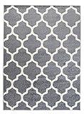Orientalisches Marokkanisches Teppich - Dichter Und Dicker Flor Modern Designer Muster - Ideal Für Ihre Wohnzimmer Schlafzimmer Esszimmer -