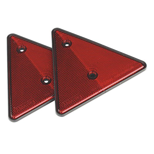 Sealey TB17posteriore riflettente triangolo, rosso, set di 2