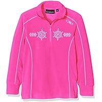 CMP maglia in pile, da ragazza Funktions Dolcevita, Bambina, Fleeceshirt Funktions Rolli, rosa caldo, 104